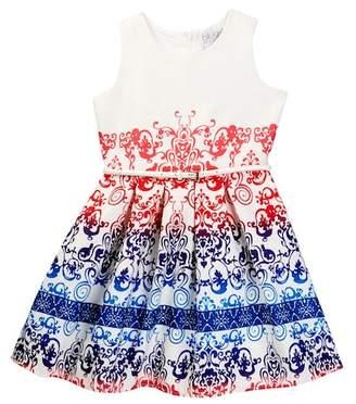 Blush by Us Angels Print Sheath Dress (Big Girls)