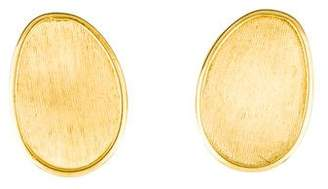 Marco Bicego 18K Yellow Flat Gold Medium Stud Earrings