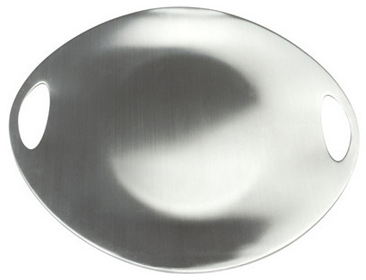 Grilling Plate, Silver