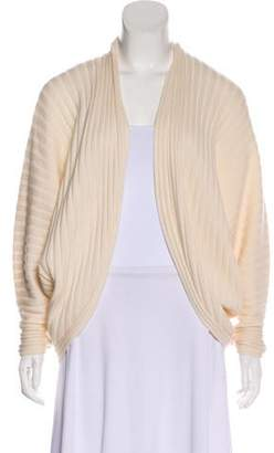 Ralph Lauren Black Label Cashmere Rib Knit Cardigan