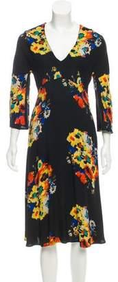 Etro Printed Midi Dress w/ Tags