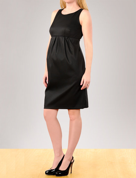 Apeainthepod Sleeveless Empire Waist Maternity Dress