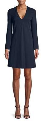 Derek Lam Long-Sleeve Mini Dress