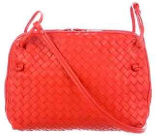 2dd78a7539e6 Bottega Veneta Intrecciato Double Compartment Messenger Bag