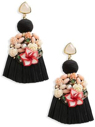 Lizzie Fortunato Dolce Vita Tassel Drop Earrings