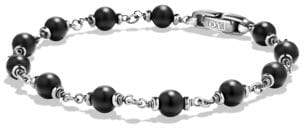 David Yurman Spiritual Beads Rosary Bracelet In Black Onyx