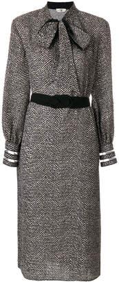 Fendi chevron dress