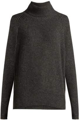 Nili Lotan Anitra ribbed roll-neck wool-blend sweater
