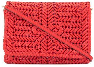Anya Hindmarch woven clutch