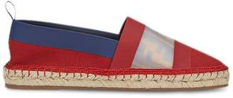 Fendi color-block espadrilles