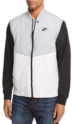 Nike Varsity Color-Block Bomber Jacket