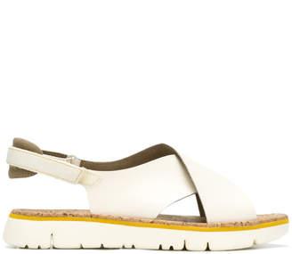 Camper crossover strap sandals