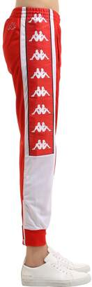 Kappa LOGO TAPE TRICOT TRACK PANTS