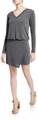 Bailey 44 Lloyd V-Neck Long-Sleeve Short Dress