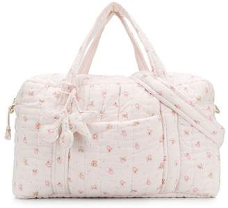 Bonpoint padded floral print bag