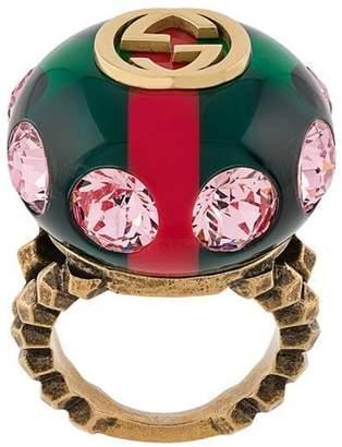 Gucci GG logo ring