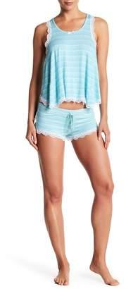 Honeydew Intimates All American Shortie Pajama Set