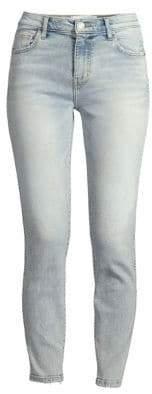 Current/Elliott Caballo High-Waist Stiletto Ankle Jeans