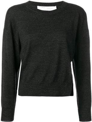 IRO crewneck fitted jumper