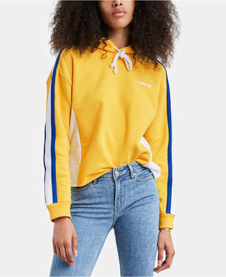 Levi's Cropped Colorblocked Hoodie