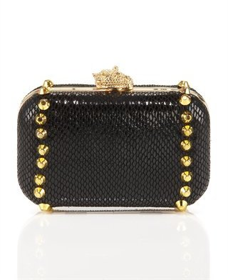 House of Harlow Val Studded Clutch