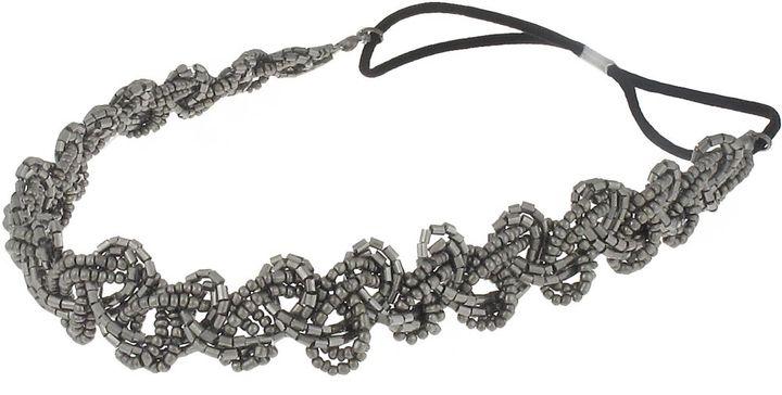 Ulta Capelli New York Metallic Bead Elastic Headwrap