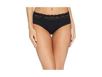 Hanky Panky Cotton with Lace French Briefs