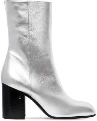 Laurence Dacade 90mm Sailor Metallic Leather Boots