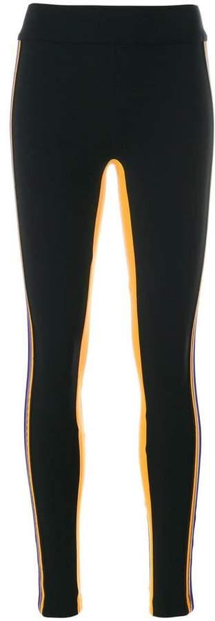 No Ka' Oi side stripe fitness leggings