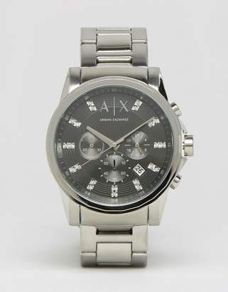 Armani Exchange Ax2092 Stainless Steel Strap Watch