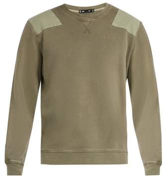 The Upside The Redford Cotton Sweatshirt - Mens - Khaki