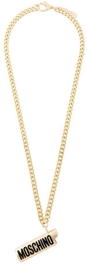 MoschinoMoschino lighter cover necklace