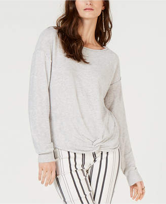 INC International Concepts I.n.c. Petite Twist Front Pullover Sweater