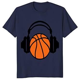 Basketball dj headphones Kids' Shirts