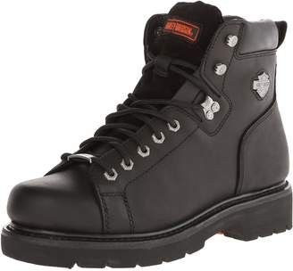 Harley-Davidson Men's Barton Lace-To-Toe Motorcycle Boot