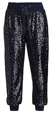 Cinq à Sept Women's Giles Sequin Crop Track Pants