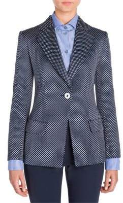 Giorgio Armani Wool Button-Front Jacket