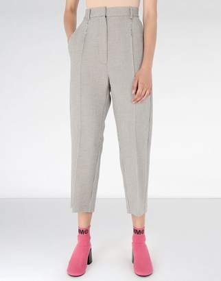 MM6 MAISON MARGIELA (エムエム6 メゾン マルジェラ) - MM6 MAISON MARGIELA cropped suiting trousers
