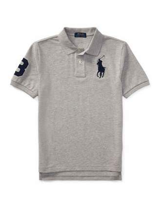 Ralph Lauren Childrenswear Big Pony Mesh Knit Polo, Size S-XL