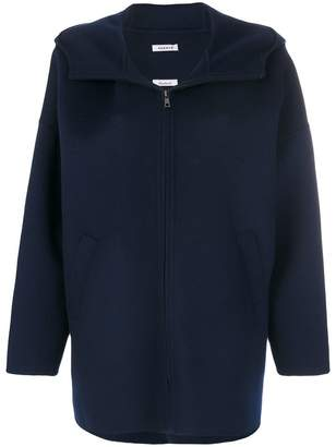 P.A.R.O.S.H. hooded zipped up coat