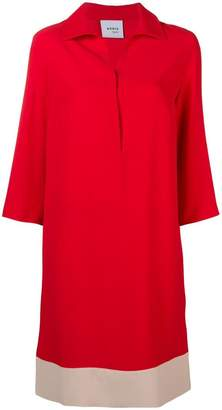 Akris Punto colour block shift dress
