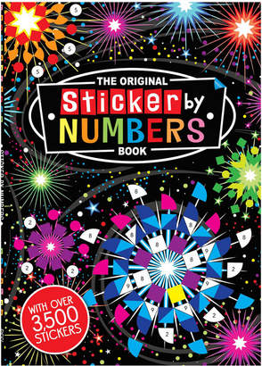 Penguin Random House The Original Sticker By Numbers Book