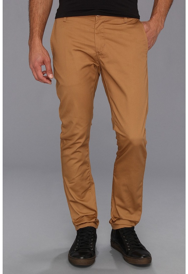 Obey Working Man Pant (Caramel) - Apparel