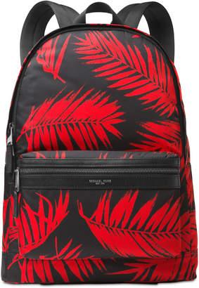 Michael Kors Men's Kent Palm-Print Backpack