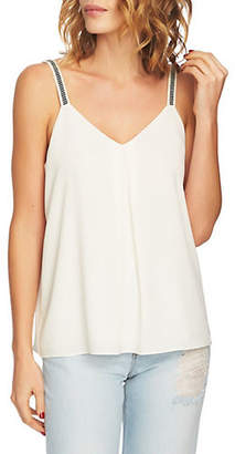1 STATE Embroidered Strap Camisole