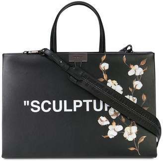 Off-White sculpture tote bag