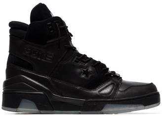 Converse x Soloist black ERX 260 leather high-top sneakers