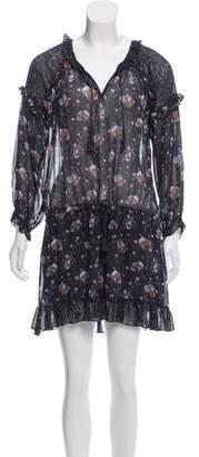 Ulla Johnson Silk Floral Dress