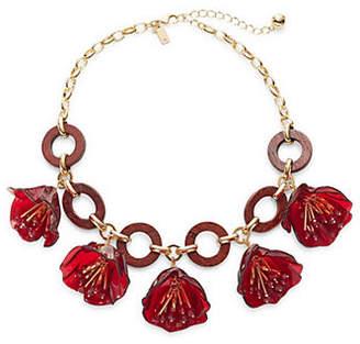 Kate Spade Stone Link Bib Necklace