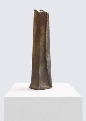 Akira Satake Woodfired Flute Vase